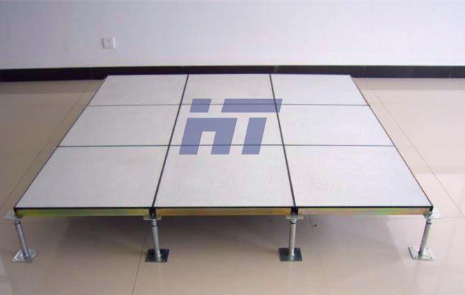 Ht Hpl Pvc Raised Access Floor Anti Static Raised Floor Gail