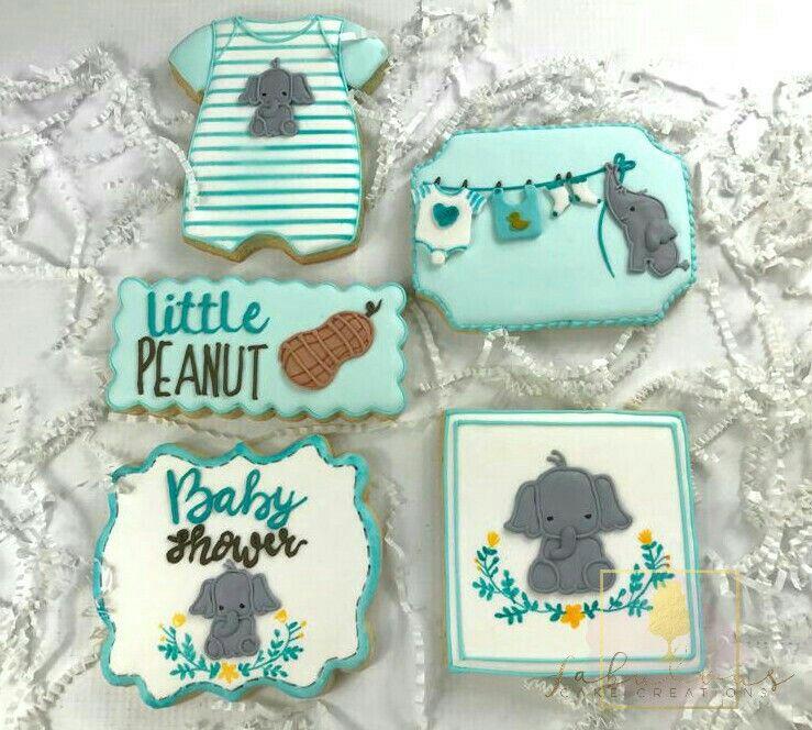 Little Peanut Baby Shower Cookies Peanut Baby Shower Baby
