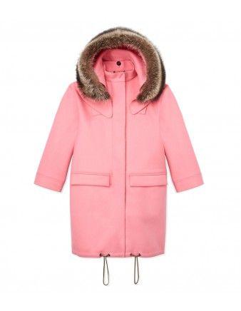 Fendi Pink Wool Coat - Shop the rest 33 ways to brighten up your look at ShopBazaar.com http://shop.harpersbazaar.com/in-the-magazine/the-best-and-the-brightest