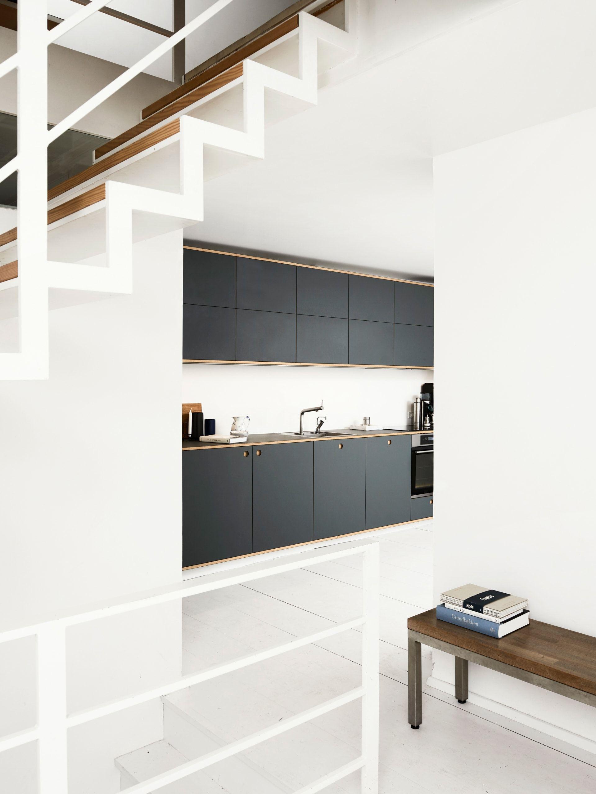 vesterfælledvej in vesterbro, denmark | kitchen designs, design