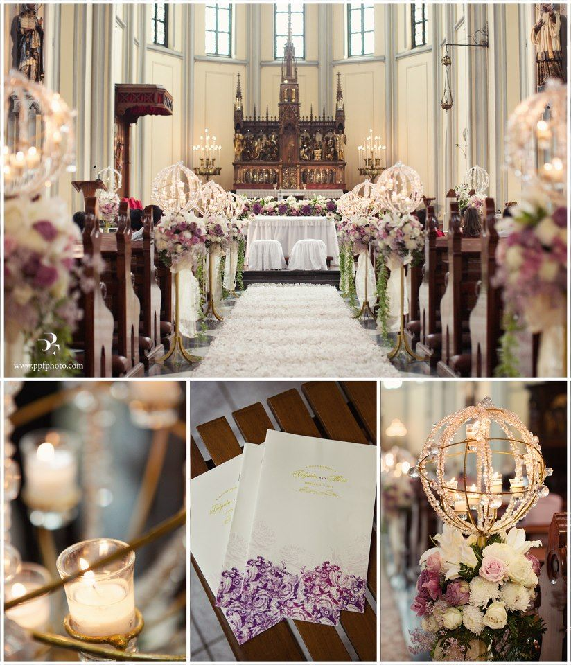 Flowers For Church Wedding Ceremony: Church Decor - Katedral Jakarta