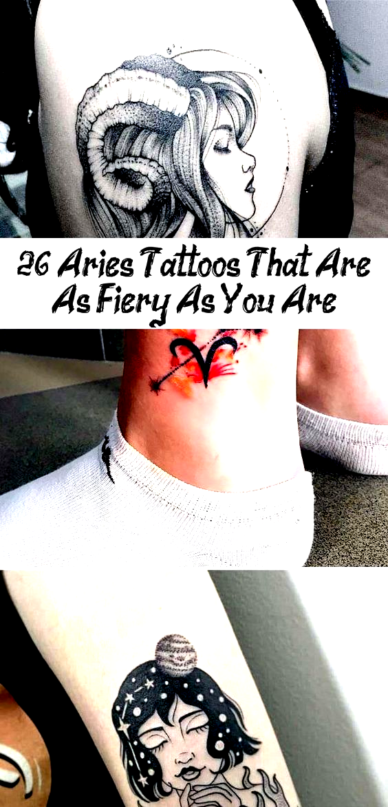 15 Aries Tattoos That Are Sophisticated and Fiery