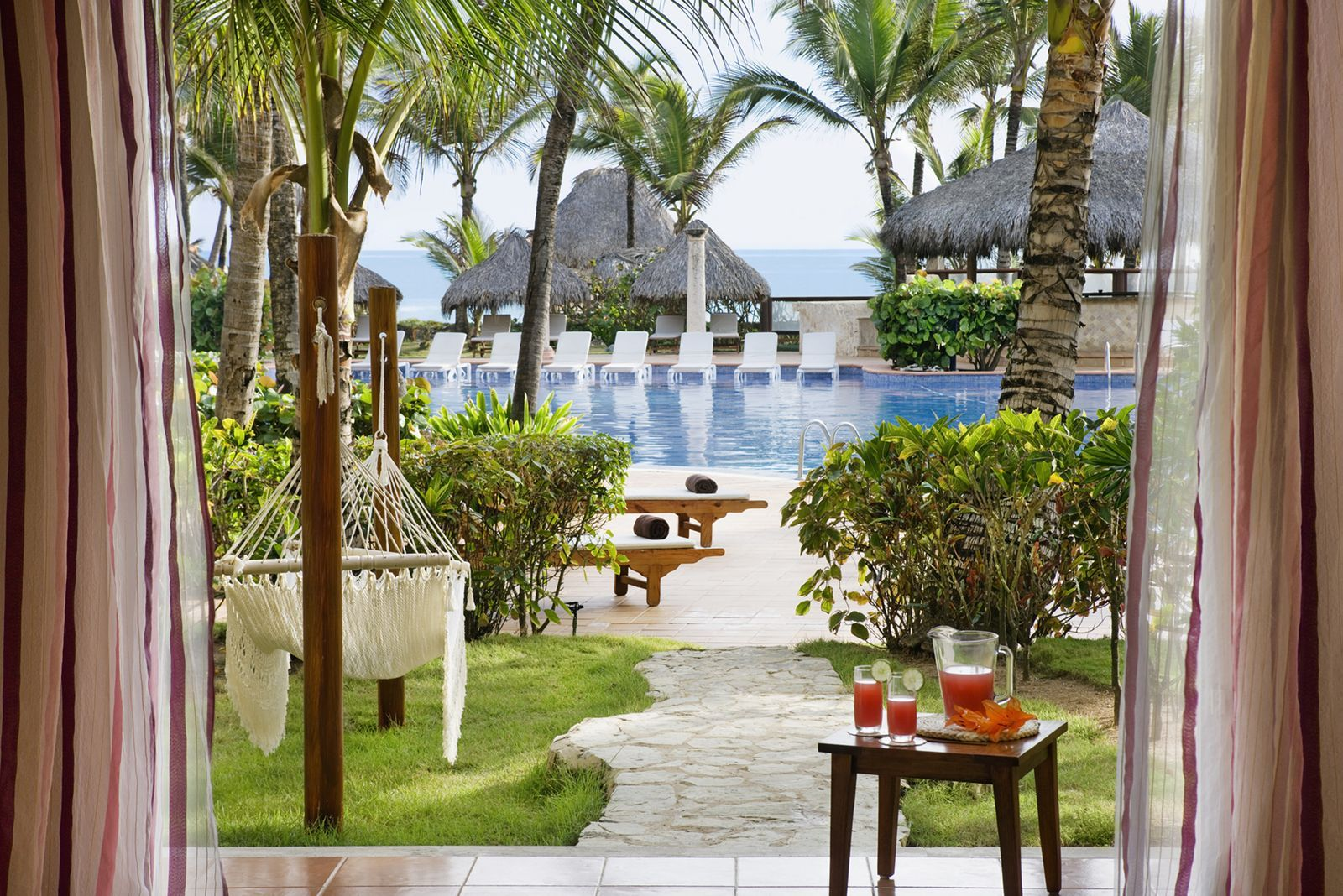 Junior Swim Up Suite Ocean View Excellence Punta Cana Punta Cana Excellence Resort Best All Inclusive Resorts