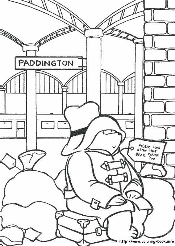 Paddington Bear coloring picture | Pre-K/Kindergarten | Pinterest ...