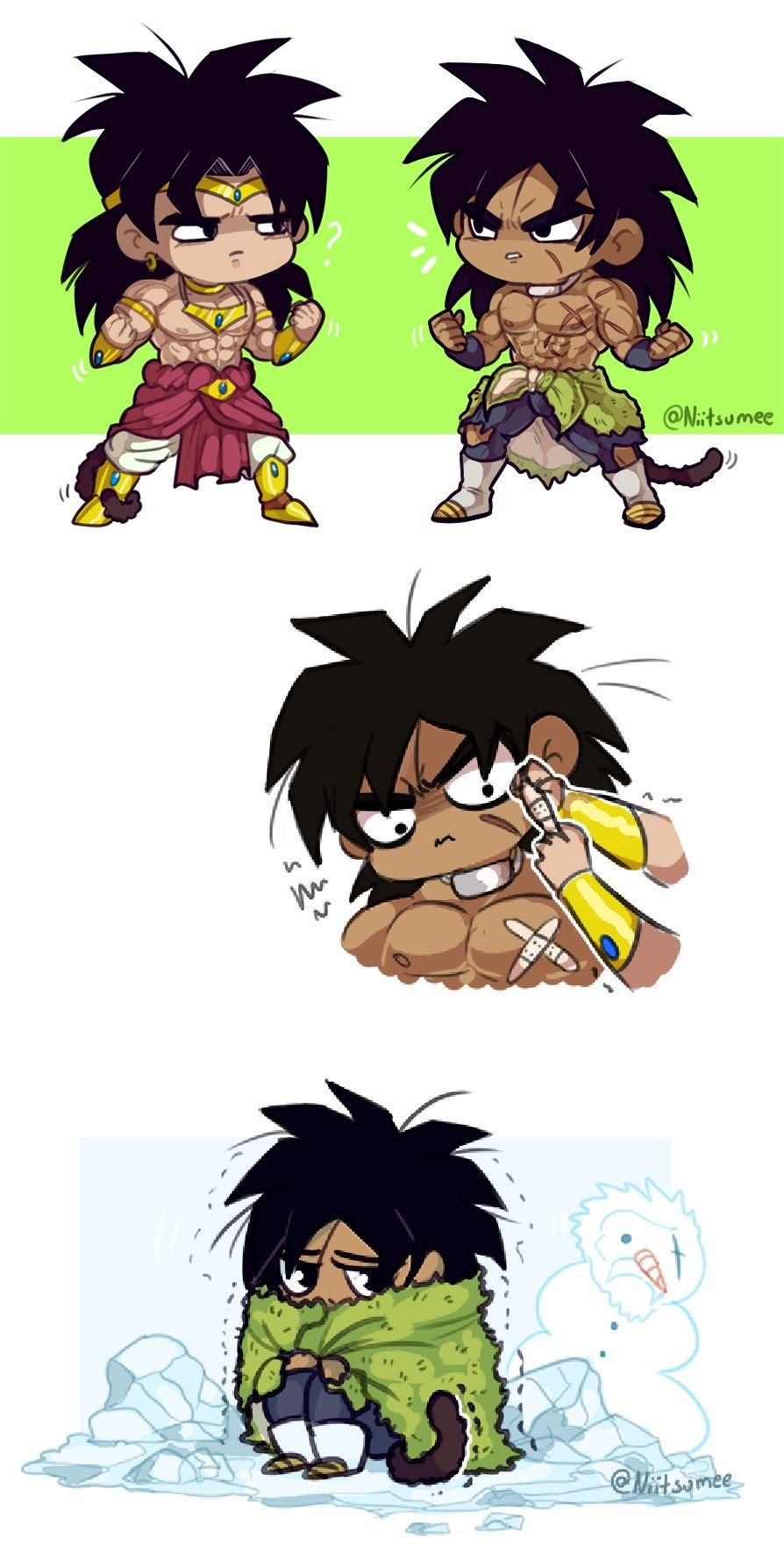 Vegeta And Trunks Gif