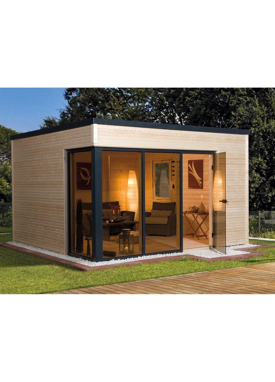 Weka Design Holz Gartenhaus Cubilis A Natur B X T 380 Cm X 300 Cm Kaufen Bei Obi Haus Gartenhaus Weka Gartenhaus