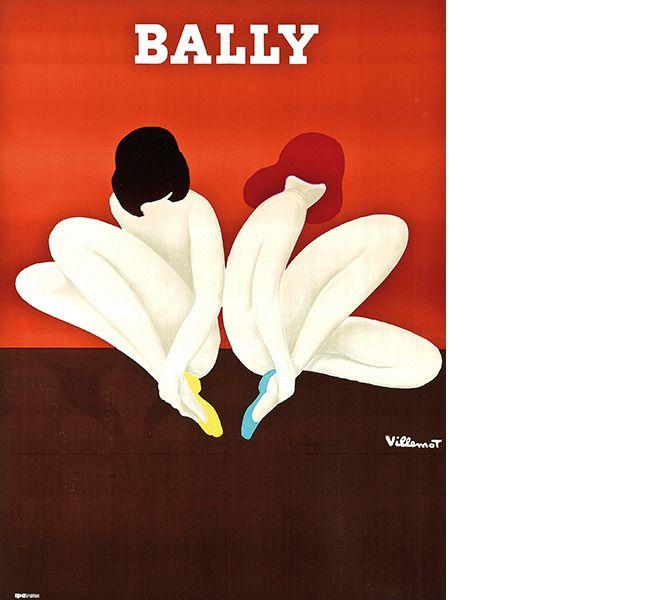 Bernard Villemot (1911-1989). Bally (Le Lotus). Starting bid: £800 © Courtesy Christie's Images Ltd. 2014