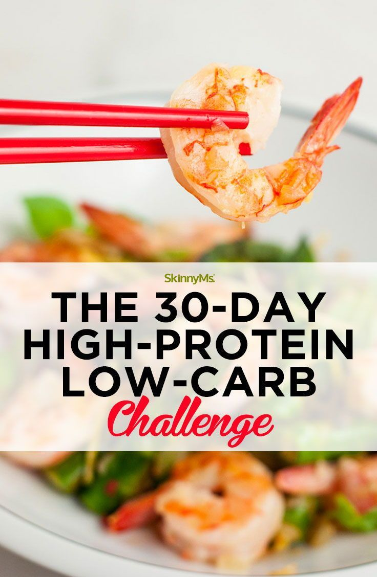30-Day High-Protein Low-Carb Meal Plan With Shopping List