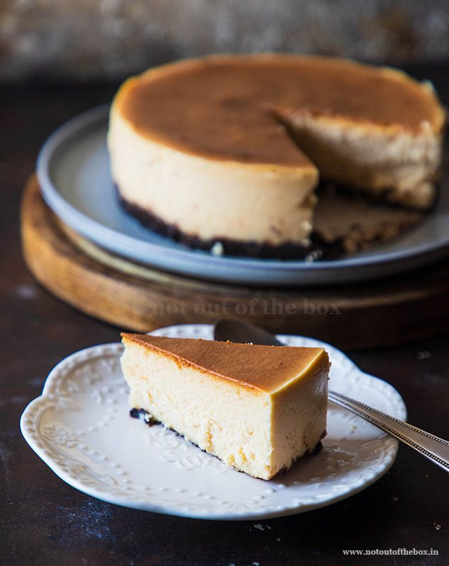 Eggless Baked Cheesecake Not Out Of The Box Recipe Cheesecake Recipes Eggless Desserts Eggless Baking