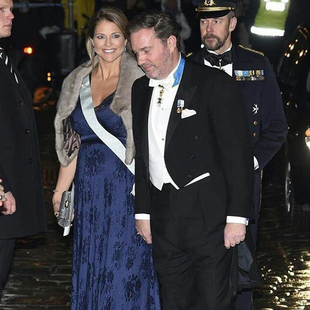 #New Princess Madeleine And Chris Arriving To The Formal