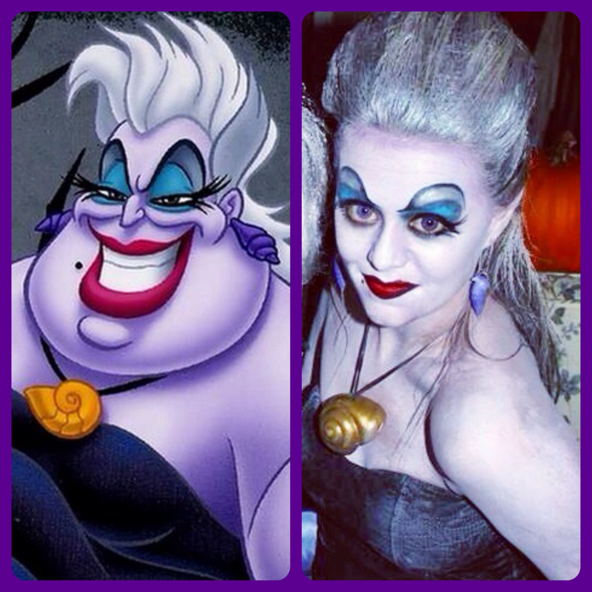 The Little Mermaid - Ursula Halloween Makeup Costume | Costume ...