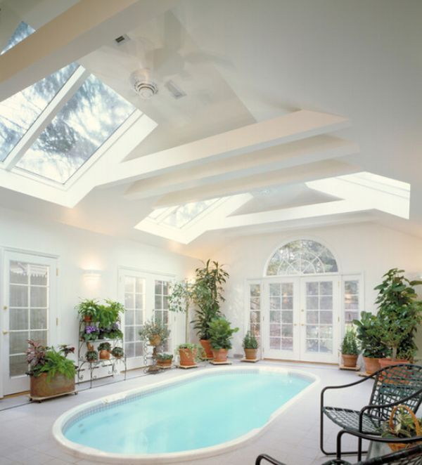Beautiful, stunning indoor pools – refreshing reminders of the sunny days | Awesome Architecture