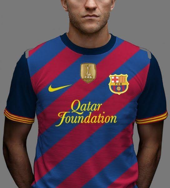 fc barcelona shirt fake but i liked
