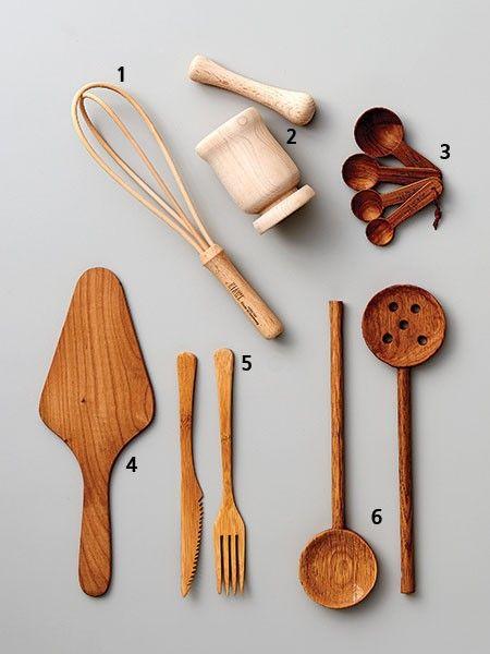 요리 시간이 즐거워지는 조리 도구 Tool 나무숟가락 도구 Diy 목공