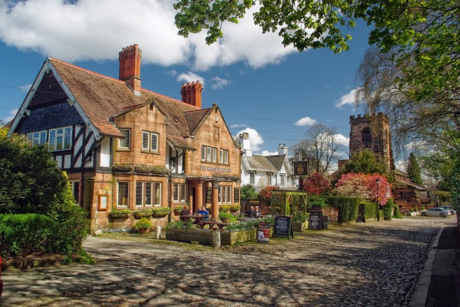 grappenhall village warrington fairytale houses. Black Bedroom Furniture Sets. Home Design Ideas