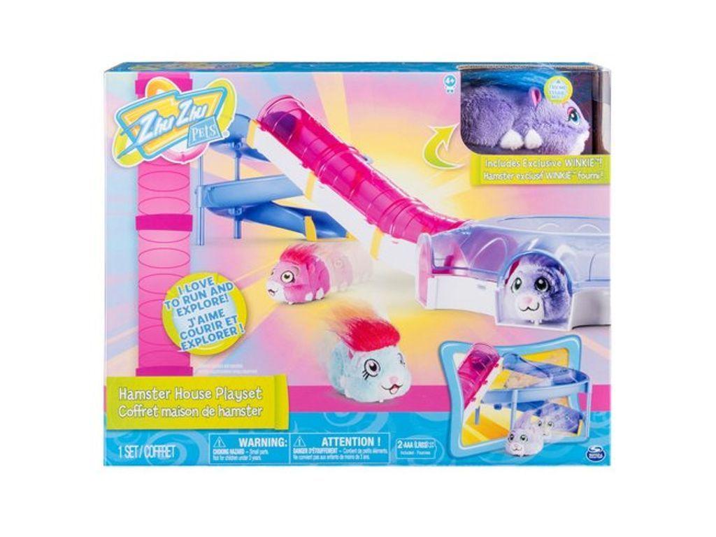 Zhu Zhu Pets Hamster House Playset Hamster House Hamster Playset
