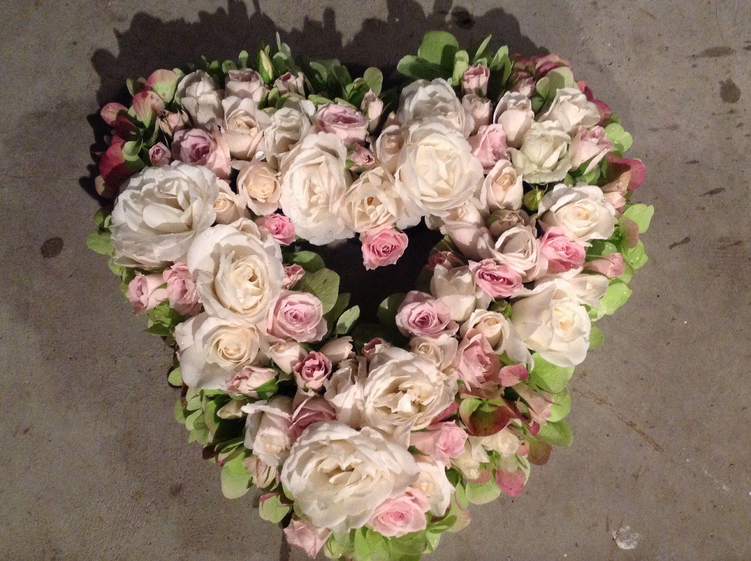 Love heart for a grandad funeral flowers pinterest funeral flowers funeral flowers love heart for a grandad izmirmasajfo