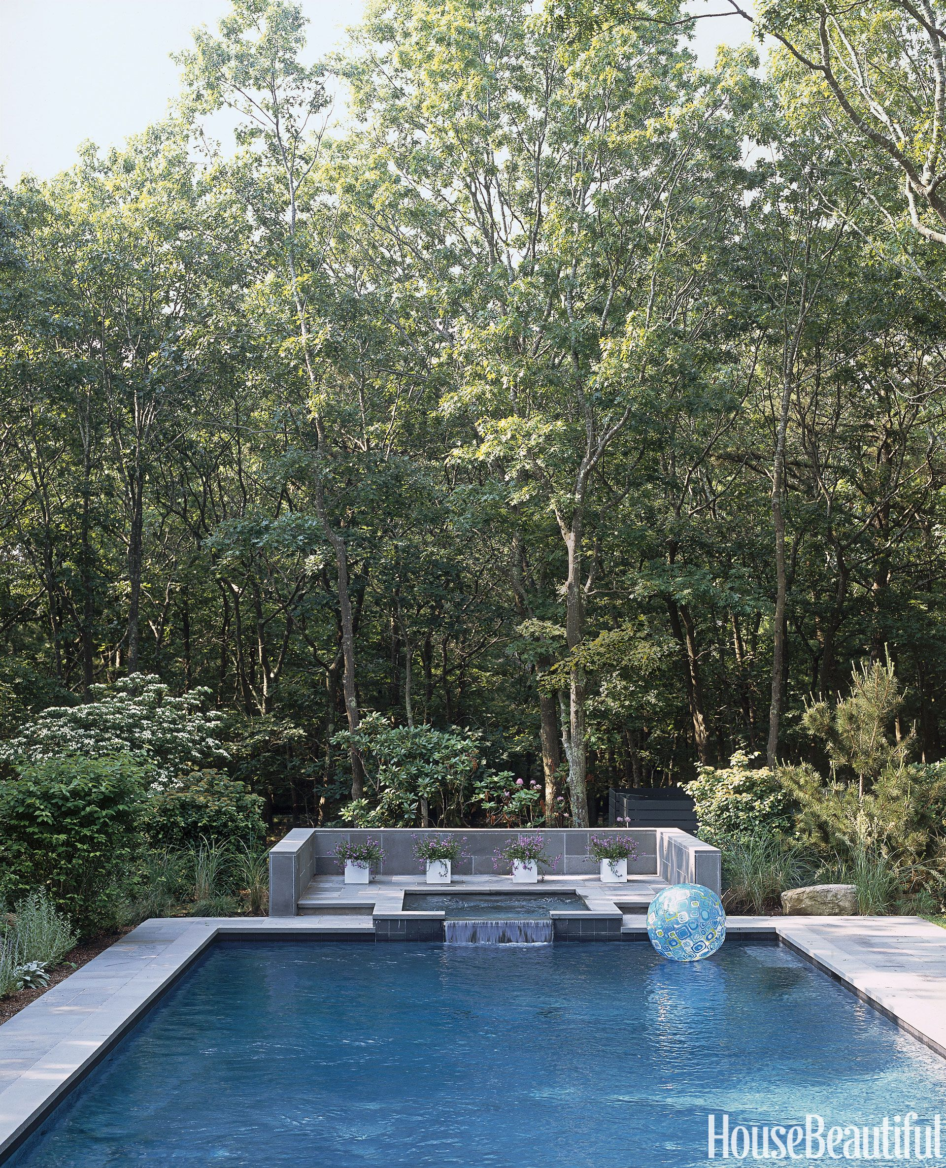 Summon summer with these dreamy swimming pools the pool for Pool design hamptons