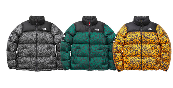 Supreme X The North Face Leopard Jacket North Face Puffer Jacket North Face Nuptse North Face Nuptse Jacket