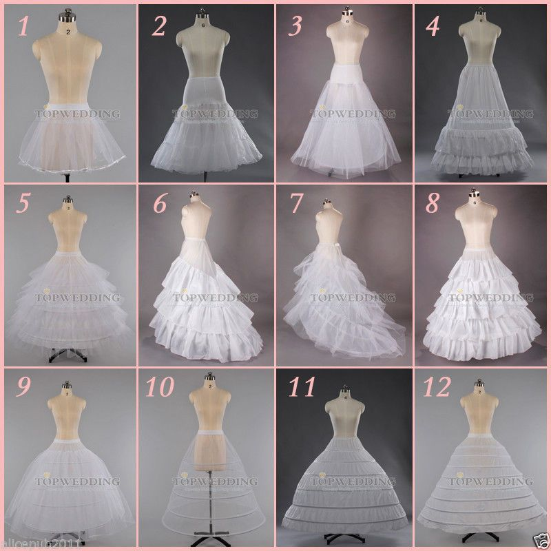 White A Line Hoop Hoopless Bridal Petticoat Wedding Dress Crinoline Underskirt Crinoline Wedding Dress Wedding Dress Patterns Wedding Dresses
