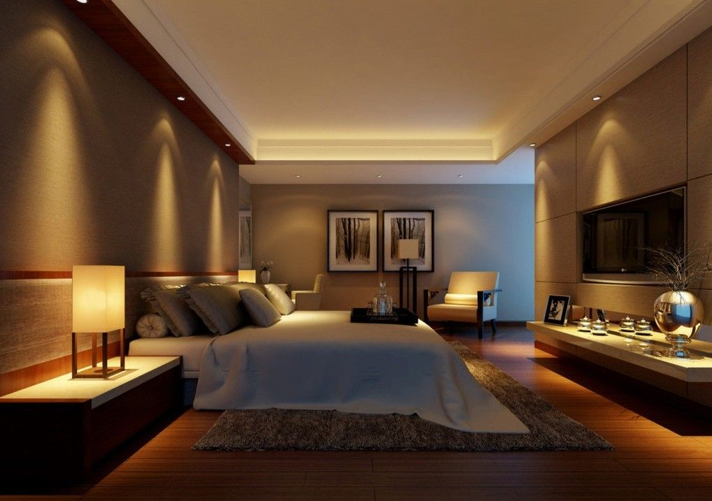 Neat and nice warm bedroom paint colors modern interior for Modern contemporary interior design