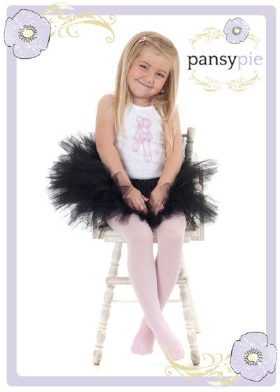 07e58de84 Black Tutu Ballerina Outfit Girls Ballet Slippers Toddler Tank Top ...