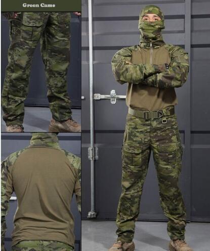 HELIKON US ACU RIPSTOP COMBAT ARMY MENS TROUSERS CARGO PANTS DIGITAL CAMO XS-XXL