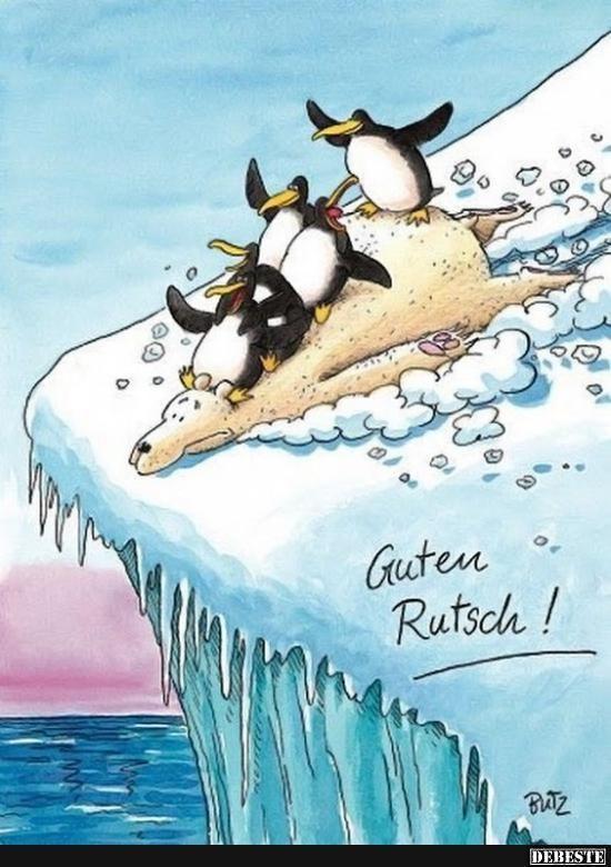Guten Rutsch! | Lustige Bilder, Sprüche, Witze, echt lustig #weihnachtswünschekarte Guten Rutsch! | Lustige Bilder, Sprüche, Witze, echt lustig