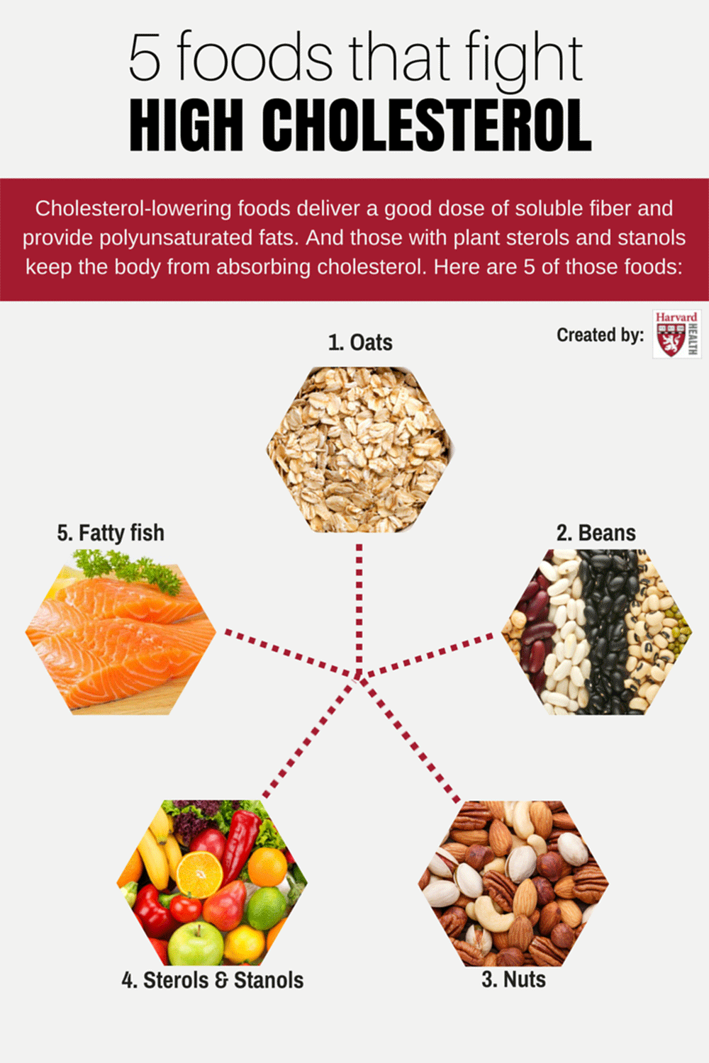 5 foods that fight high cholesterol Cholesterol foods