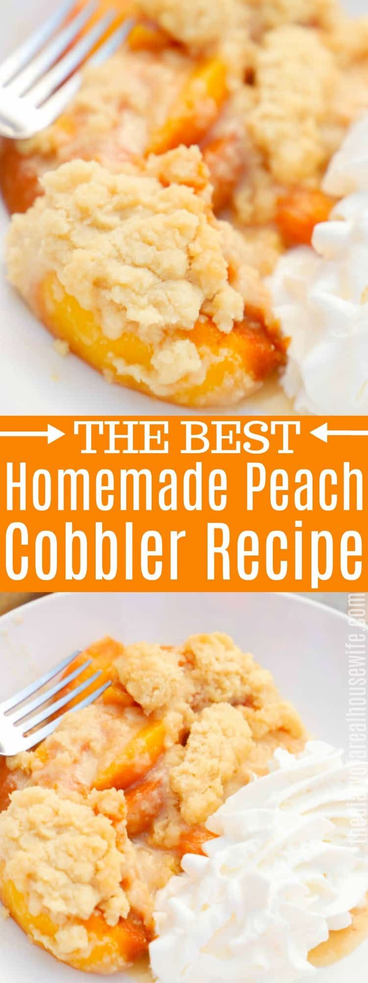 Peach Cobbler • The Diary of a Real Housewife