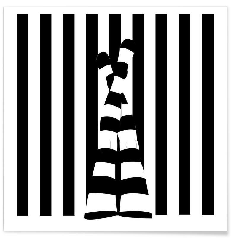 JUNIQUE Striping legs als Premium Poster | Wohnung | Pinterest ...