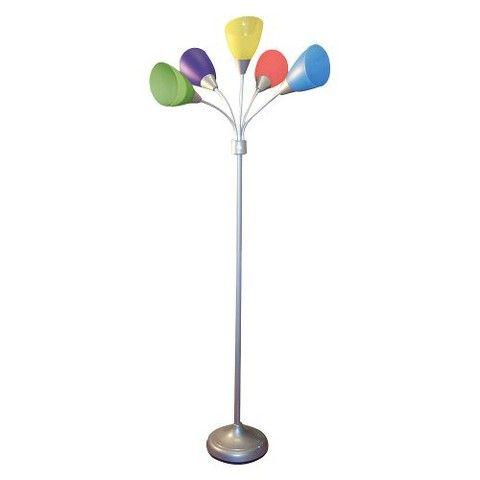 5 Head Multi Arm Lamp Colourful Floor Lamps Lamp Kids Lamps