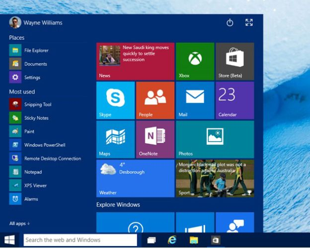 Windows 10 Brings Back The Start Menu Here S How To Customize It Windows 10 Windows Windows Computer