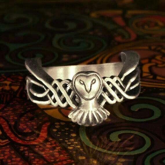 Celtic Owl ring
