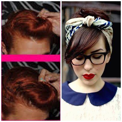 Peinados Años 50 Con Pañuelo Buscar Con Google Peinados Disfraces Caseros Pelo