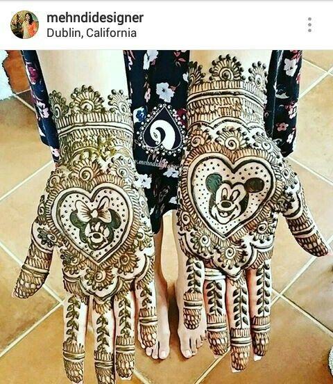 Disney Inspired Mehndi Anyone Mehndidesigner Hand Henna Mehendi Designs Mehndi Images