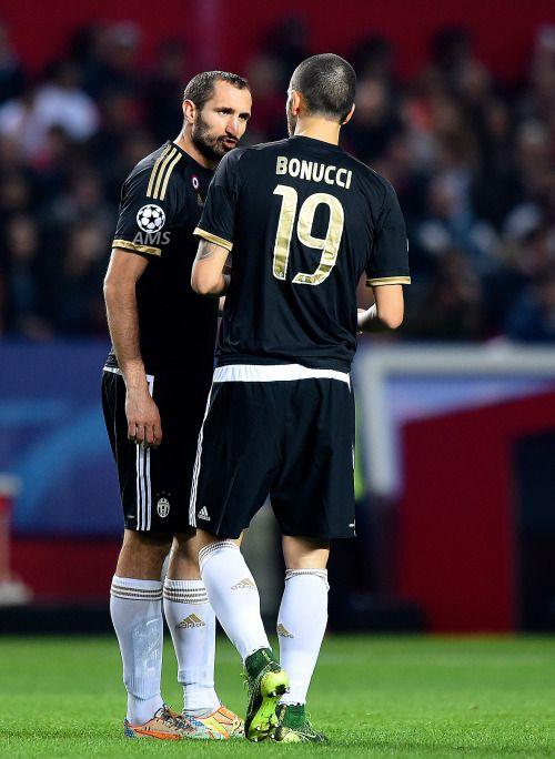 Chiellini and Bonucci