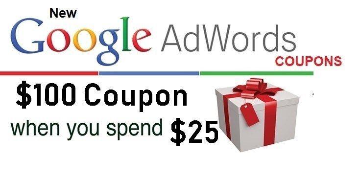 Adwords coupon 100 usd adwords google adwords coupons