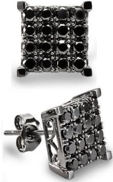Big Square Earrings For Guys : square, earrings, Studs, Ideas, Diamond, Earrings, Studs,
