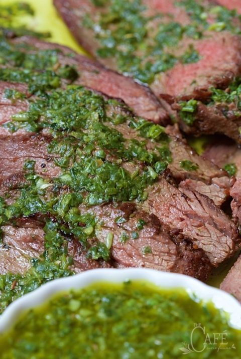 Grilled Tri-Tip with Chimichurri Sauce (3)