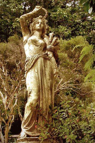 Ceres of the Harvest | Ceres goddess, Goddess statue ...