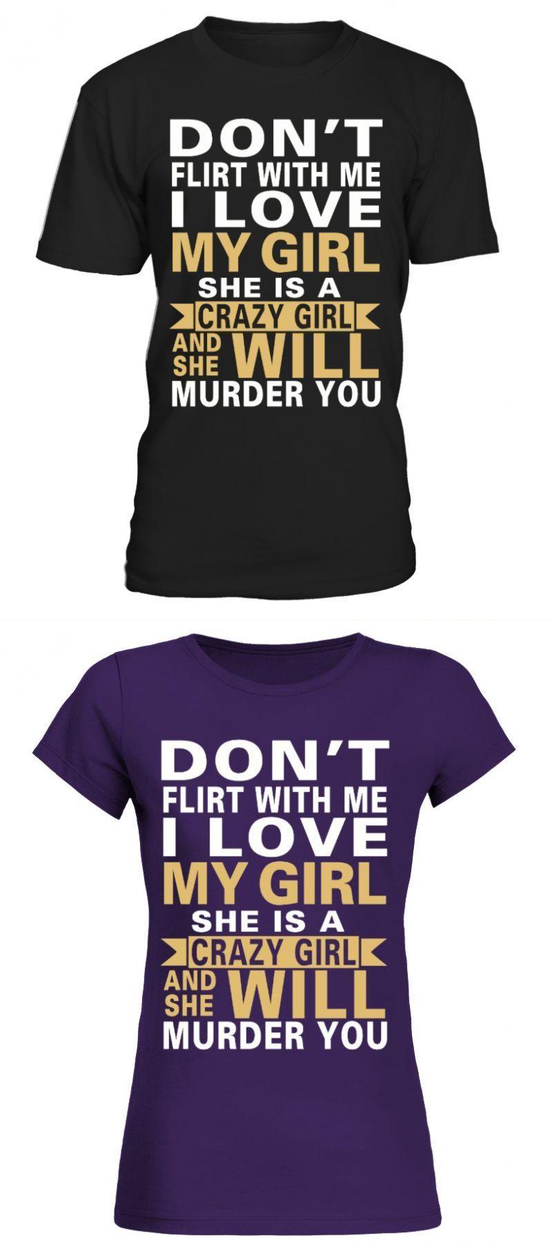 Austin high school t shirts i love my crazy girl bayside