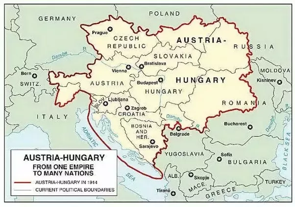 Image Result For World Map Austria Hungary World Maps Pinterest