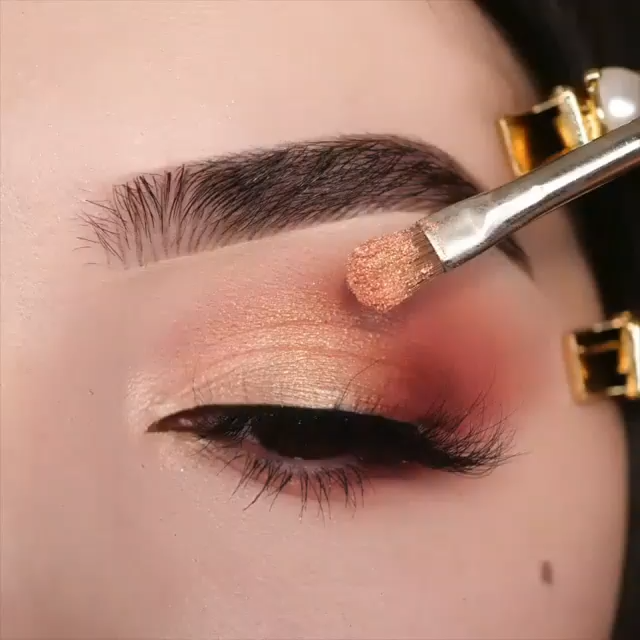 25 Glamorous Eye Makeup Ideas To Bring Out The Feminine – Ashleykaylamakeup - Glamdual Makeuppictorial - Makeup Video