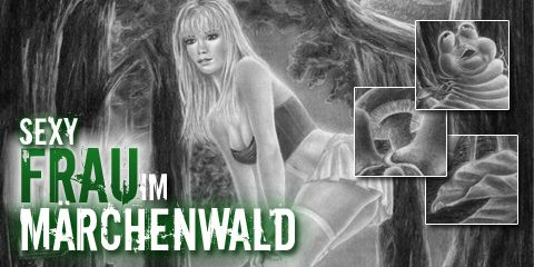 #Zeichnen lernen #Sexy Frau #Märchenwald # Tutorial ...