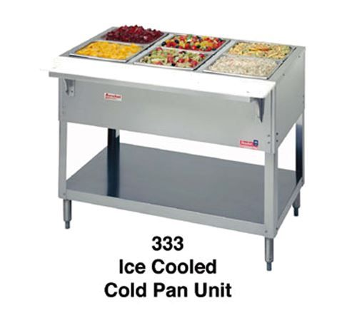 Duke 334 Aerohot Ice Cooled Cold Pan Unit Cold Meals Commercial Restaurant Equipment Kitchen Accessories