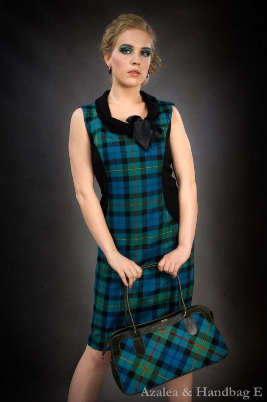 Click on the photo to go to our online shop. Azalea, Tartan (Plaid) Evening Dress Product ID: 9034