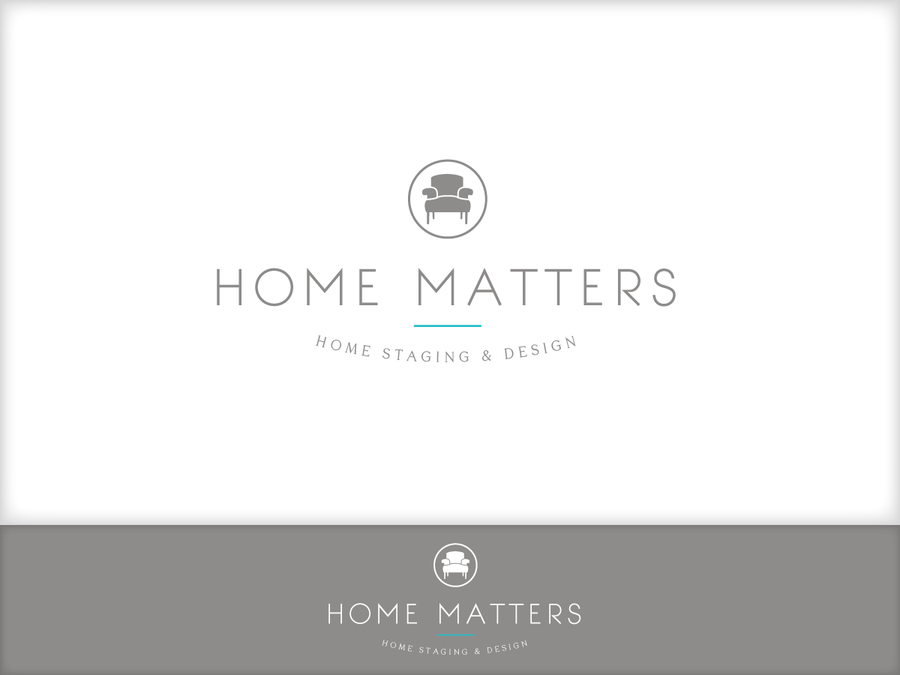 Develop A Logo For A Home Staging Interior Design Business By