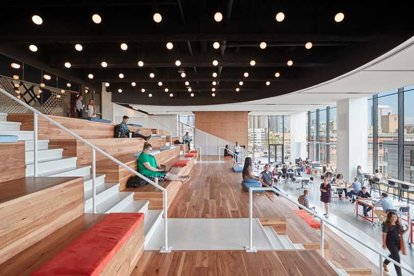 A Peek Inside McDonald's New Chicago Headquarters - Design Milk