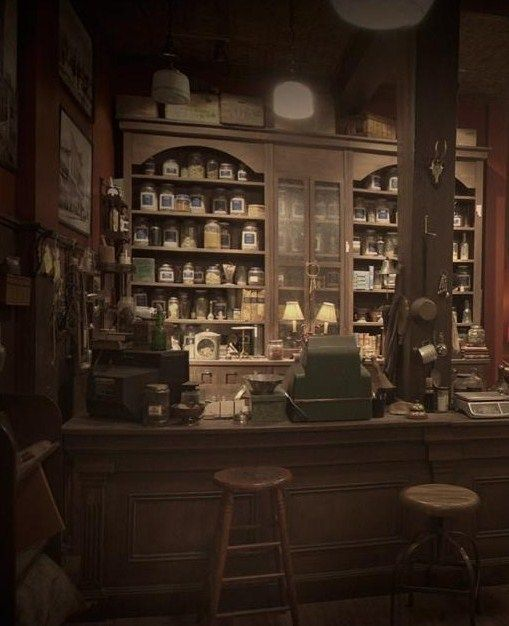 """apothecary shop from """"Grimm"""" 